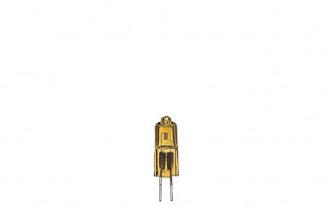 Paulmann Halogen Stiftsockel mit Axialwendel 10W G4 12V 9mm Gold