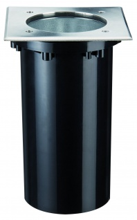 937.49 Paulmann Wand & Bodeneinbau Special EBL IP67 Boden eckig max. 20W 230V E27 175x175mm Edelstahl/Metall