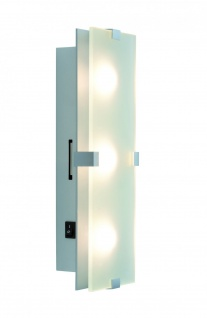 Paulmann WallCeiling Xeta WL LED 7, 5W 320x100mm Chrom matt 230V Metall/Glas