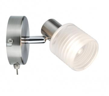 Paulmann 601.98 Spotlight Helix 1x2, 2W G9 Nickel gebürstet 230V Metall