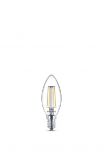 Philips 8718696587355 E14 LED Classic Leuchtmittel 4, 3W 470lm Filament Warmweiß 2