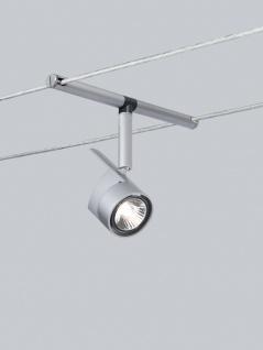 10x 971.62 Paulmann Seil Zubehör Wire System Light&Easy Spot MiniPower 1x35W GU4 Chrom matt 12V Metall