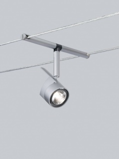 Paulmann 971.62 10x Seilsystem Light&Easy Spot MiniPower 1x35W GU4 Chrom matt 12V Metall