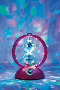 TIP 3578 Party LED Double Ball Tischleuchte 1, 5W Pink