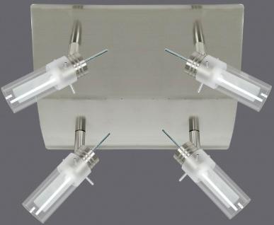 663.33 Paulmann Deckenleuchten Alisa Rondell 4x50W GZ10 Chrom matt/transp/Satin 230V Metall/Glas