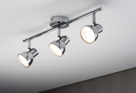 Paulmann Spotlight Cup LED 3x4, 6W Chrom 230V Kunststoff - Vorschau 3