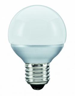 10 Stück 280.75 Paulmann E27 Fassung LED Miniglobe 60 1x2, 3W E27 Opal
