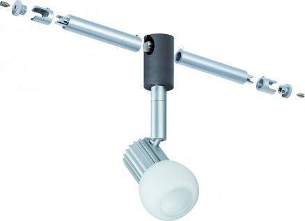 Paulmann Seil- und Schienenspot CombiSystem Cone 3W Chrom matt 230/12V Metall