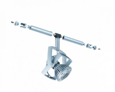 940.52 Paulmann Seil Zubehör / 12V Einzelteile WiRa System CombiEasy Spot Mac² LED 1x1W GU5, 3 Chrom matt 12V Metall/Kunststoff