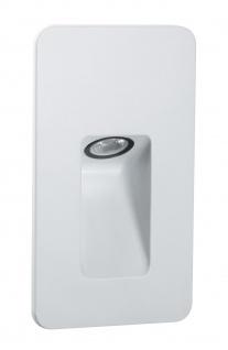 Paulmann 938.08 Special Einbauleuchte Set IP44 Wand Slot LED 2, 4W 230V 90mm Weiß matt/Alu - Vorschau 2