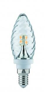 Paulmann LED Kerze Gedreht 2, 5W E14 230V Klar