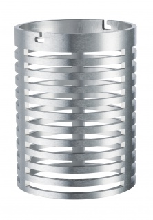 Paulmann 938.14 Special Glas AmbientLED IP44 Wand Alu gebürstet/Alu