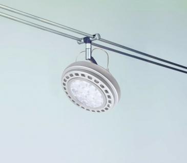 97213.LED Rail System Schienensystem Light&Easy Spice Spot Wasabi LED 1x12W Chrom matt