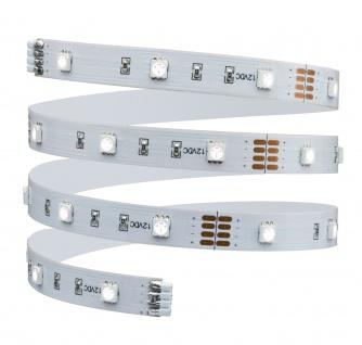 Paulmann Function BlackLight LED Stripe Set 1m 6W 230/12V DC Weiß Kunststoff