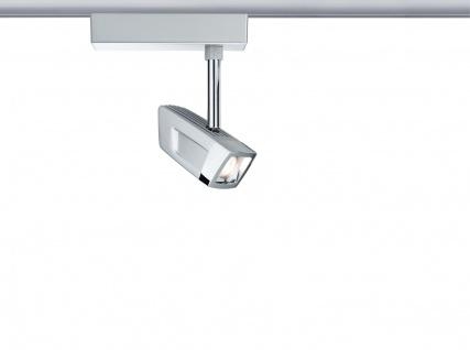 Paulmann 951.80 URail Schienensystem LED Spot Scene 1x10W Chrom matt/Chrom 230V Metall