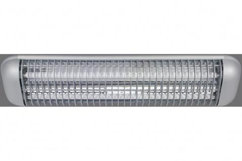 Paulmann Function Desk Plus Raster Deckenleuchte 2x14W G5 Titan 230V Alu/Kunststoff