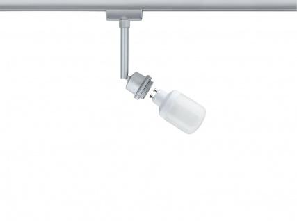 Paulmann URail Schienensystem DecoSystems Energiesparlampe Spot 1x9W GU10 Chrom matt 230V Metall