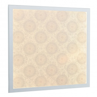 Paulmann 708.14 LED Panel Lumix Pattern Wandleuchte 11, 5W Weiß Warmweiß Erweiterung incl. LED