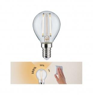Paulmann 285.73 LED Tropfen 2, 5W E14 230V 3step dimmbar klar