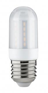Paulmann 284.12 LED Kolbenlampe 3, 5W E27 230V Satin 2700K