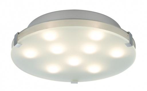 Paulmann WallCeiling Xeta dimmbar IR Fernbedienung LED 24W 300mm Chrom matt 230V Metall/Glas