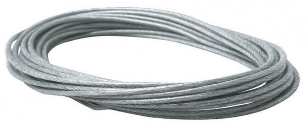1x Paulmann 10m Sicherheits-Spann-Seil isoliert 2, 5qmm