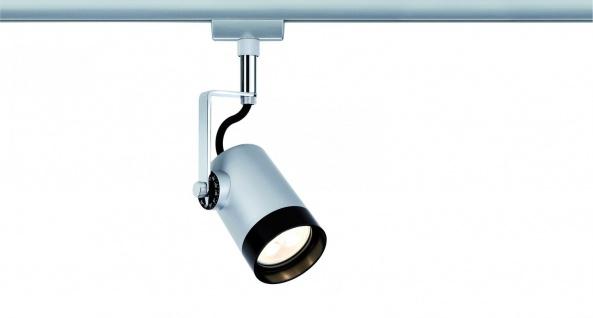 Paulmann URail Schienensystem LED Spot Scale 1x3, 5W GU10 Chrom matt/Chrom 230V Metall