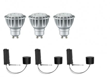 Paulmann 927.95 2Easy Einbauleuchte Basis-Set dimb. LED 3x8W 2700K 230V GU10 51mm
