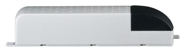 Paulmann 977.54 VDE Mipro Elektroniktrafo 20-80W 230/12V 80VA Grau/Schwarz