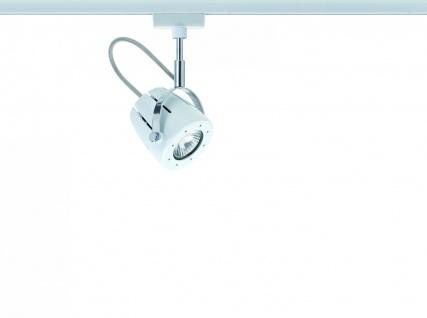 Paulmann 951.70 URail Schienensystem Light&Easy Spot Mega 1x40W GU10 230V Weiß Metall