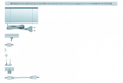 701.88 Paulmann ModuLED Function ModuLED Basis-Set 3x40cm 3x1, 8W LED Chrom matt 230V/12V Alu