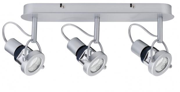 Paulmann 665.36 Spotlights Ring Energiesparlampe 3x11W GU10 Chrom matt 230V Metall