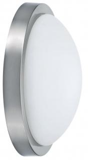 Paulmann WallCeiling Dopp 2x15W E27 320mm Eisen gebürstet/Opal 230V Metall/Glas
