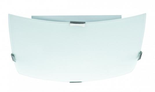 Paulmann 703.71 WallCeiling Louisa max. 2x60W E27 280x280mm Weiß/Opak 230V Metall/Glas