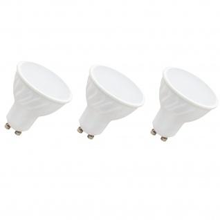 3x Paulmann Premium Einbauleuchte Daz rund schwenkbar 5W LED 230V GU10 Weiß m./Schw. 926.81.3.LED3000K - Vorschau 3
