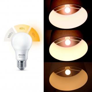 929001236558 Philips LED Leuchtmittel 8 W-5 W-2 W (60 W), E27, Warm/sehr warm/extrawarm