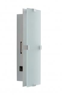 Paulmann WallCeiling Xeta WL LED 7, 5W 320x100mm Chrom matt 230V Metall/Glas - Vorschau 2