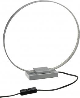 7, 5W LED Action Tischleuchte Kristal Rund silber 660 Lumen incl. Lamp: 1x LED 3000K warmweiß
