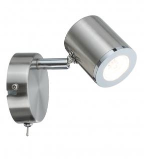 Paulmann 666.58 Spotlight Tumbler 1x4, 5W Nickel 230V Metall