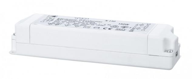 TIP 977.89 VDE Elektroniktrafo 35-150W 230/12V 150VA Weiß