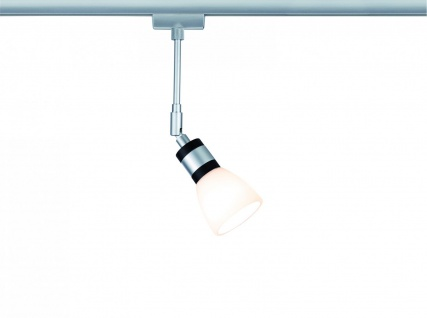 Paulmann URail Schienensystem LED Spot Titurel II 1x2, 2W G9 Chrom matt/Chrom 230V Metall/Glas