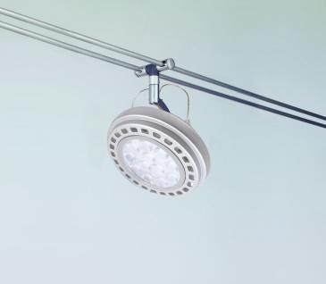 Paulmann LED Schienensystem Wasabi inkl. Mili LED Leuchtmittel 6x 12W AR111 G53 Chrom matt Warm weiss - Vorschau 2