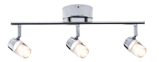 Paulmann Spotlight Bowl LED 3x3, 2W Chrom 230V Metall