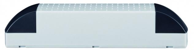Paulmann 977.20 VDE Profi Elektroniktrafo 100-200W 230/12V 200VA Grau/Schwarz