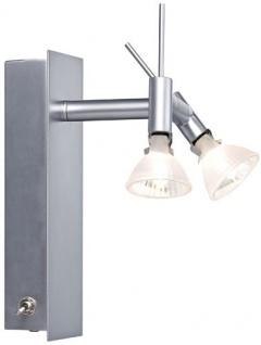 Paulmann 664.64 Spotlights Ginger Balken 1x(2x20W) GU4 Chrom matt 230/12V 60VA Metall