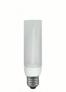 Paulmann 894.11 Energiesparlampe DecoPipe gerade 11W E27 Warmweiß
