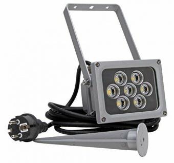 7W HIGH-POWER-LED-ERDSPIESS AUSSENSTRAHLER HIGH POWER LED OUTDOOR- LIGHT 560 Lumen 4000K