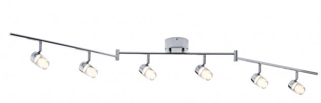 Paulmann Spotlight Bowl LED 6x3, 2W Chrom 230V Metall