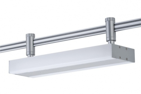 Paulmann 976.69 Schienensystem Light&Easy Phantom Spot LF-Line 2x8W G5 Titan Metall
