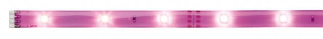 Paulmann 704.36 Function YourLED DECO Stripe Neon Lilac 1m Warmweiß 2, 4W 12V DC Weiß Kunststoff